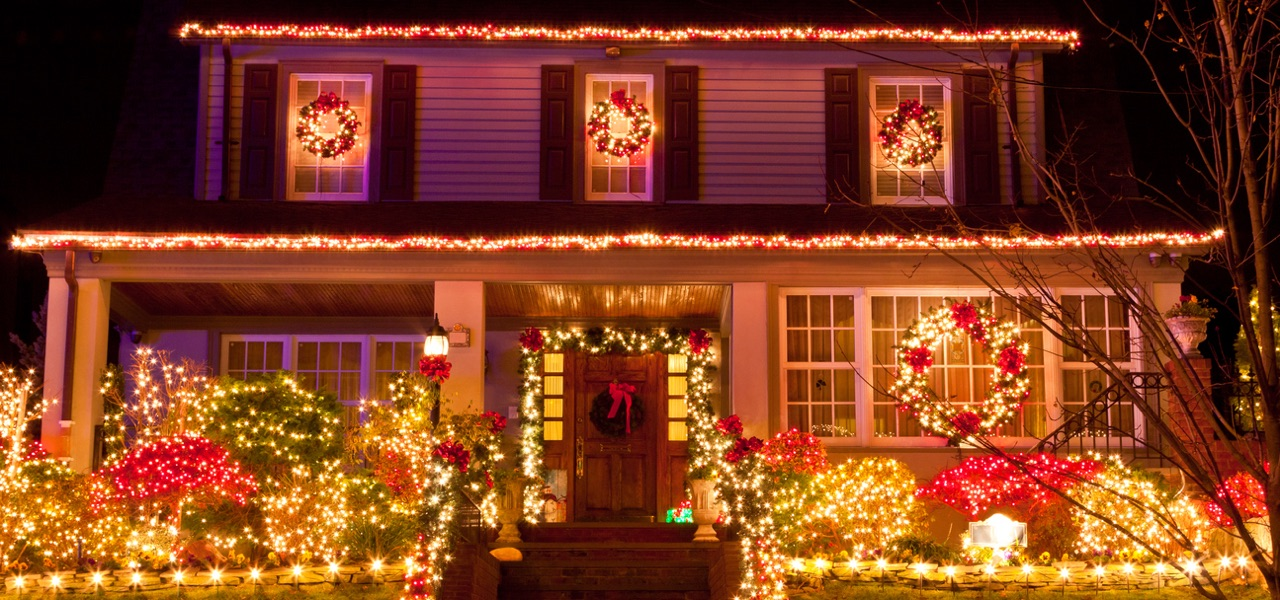 Ways to save energy with holiday decorations.
