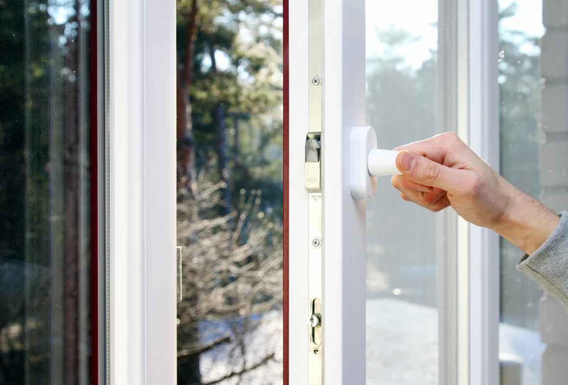 Open windows when it's cooler outside to reduce indoor temperature.