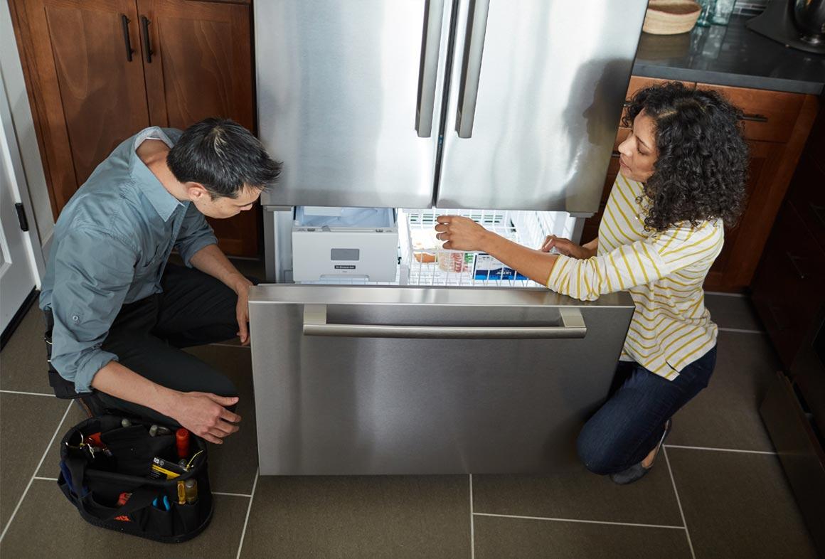 Proper refrigerator seals reduces costs