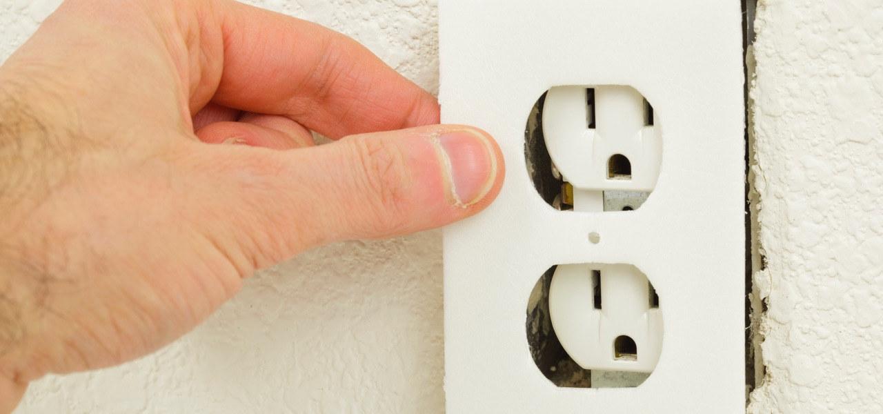 insulate outlets and light switches