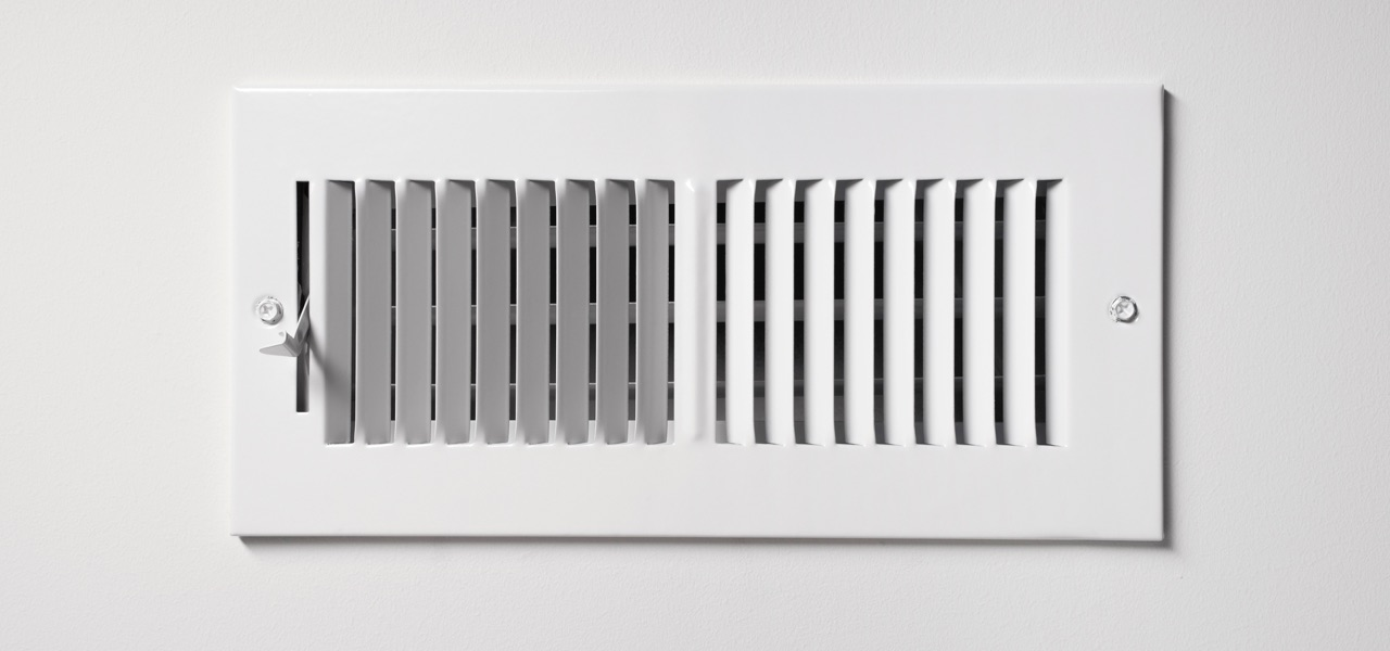 Keep area around vents clear