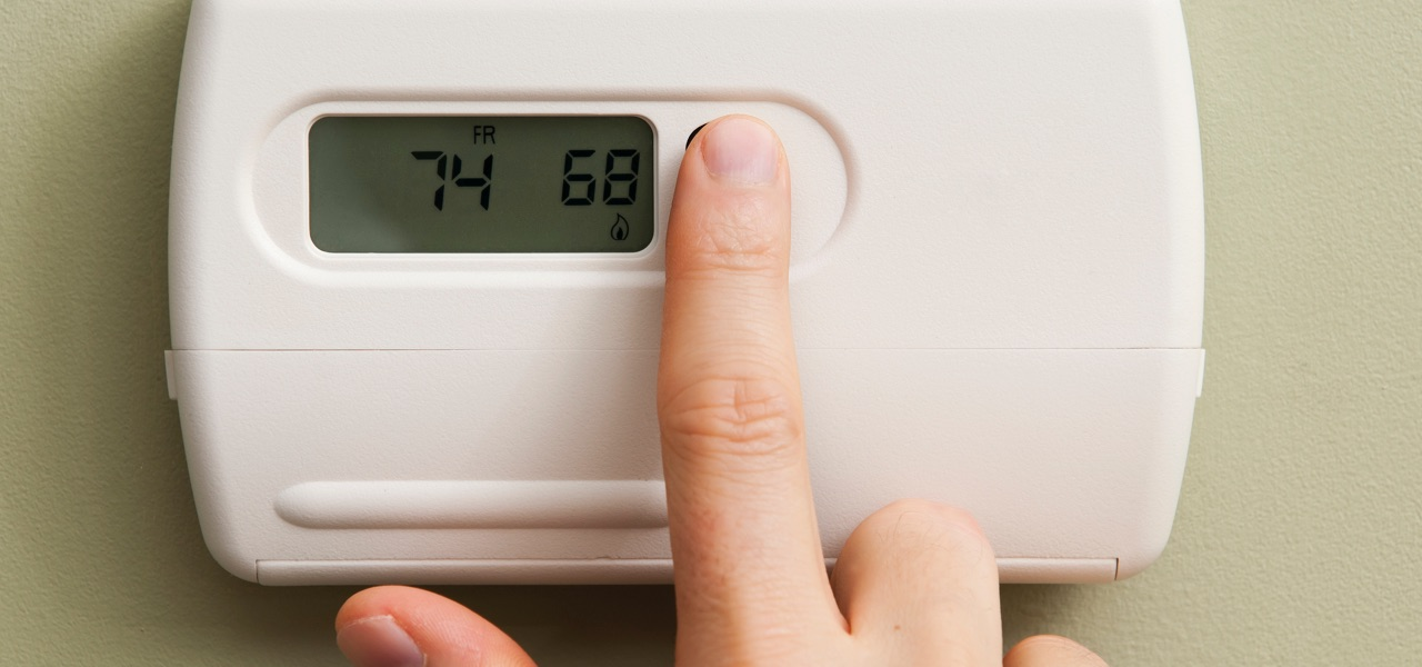 Keep thermostat at 68 degrees or lower if using the fireplace
