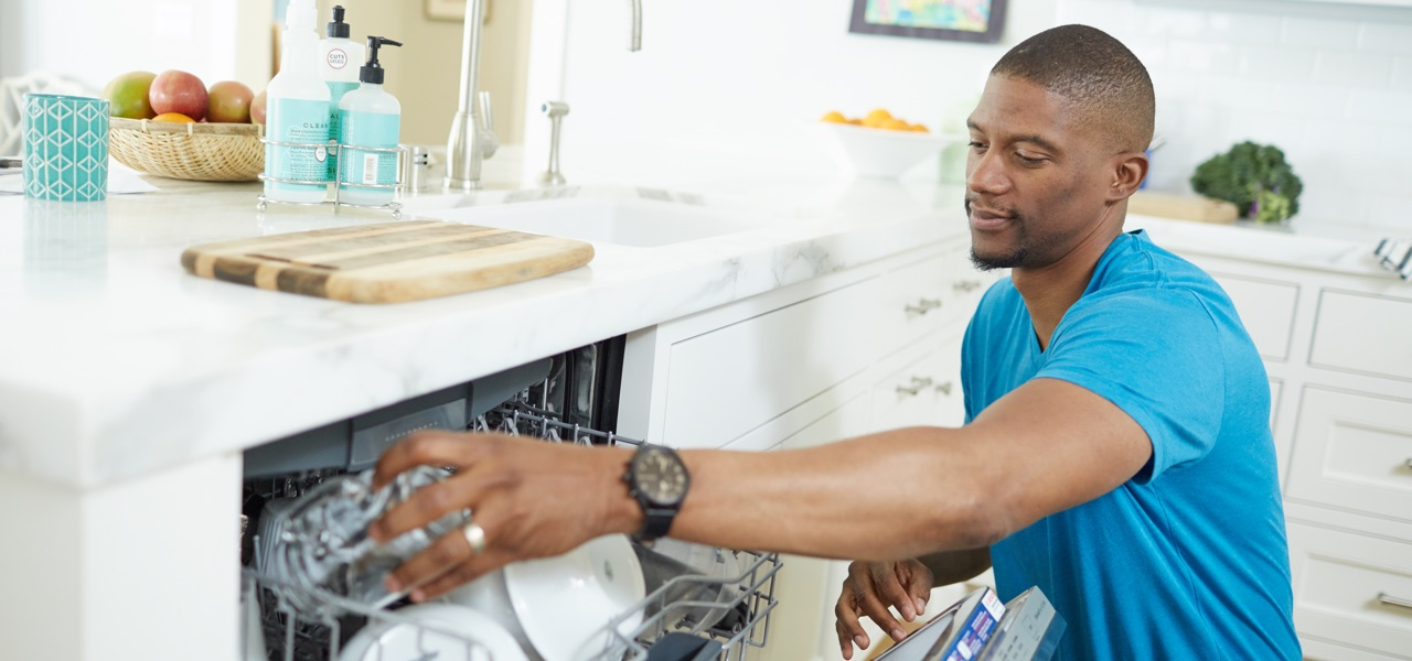 Only run a full dishwasher and use energy saver settings