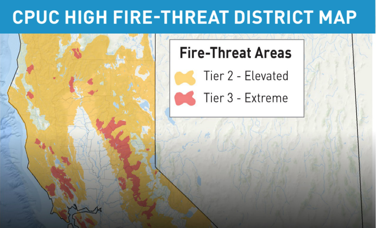 Tier 2 and Tier 3 areas are more likely to be impacted areas
